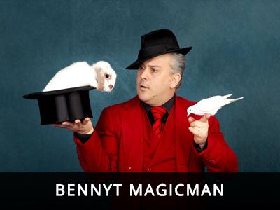 Rampant School Incursions - BennyT Magicman