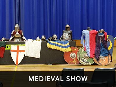 Medieval Show High School Incursion