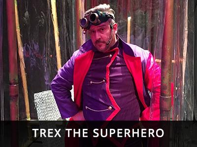 Rampant School Incursions - Trex the Superhero